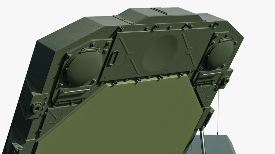 Flap Lid B S300 Missile Guidance Radar Rigged royalty-free 3d model - Preview no. 22