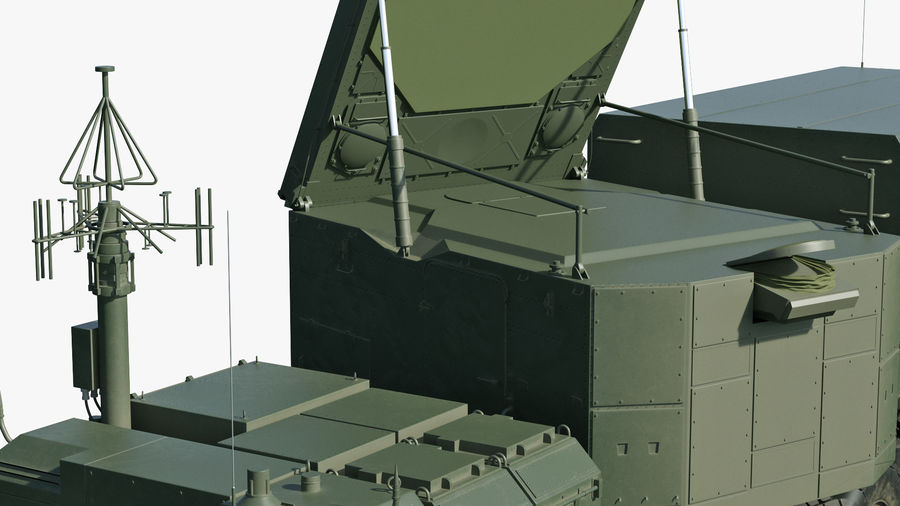 Flap Lid B S300 Missile Guidance Radar Rigged royalty-free 3d model - Preview no. 18
