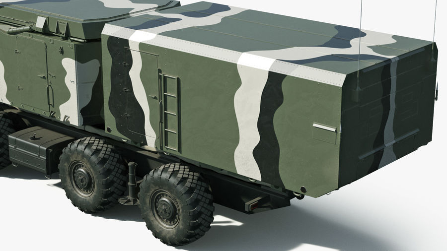 S300 Flap Lid B Camouflage Rigged royalty-free 3d model - Preview no. 28