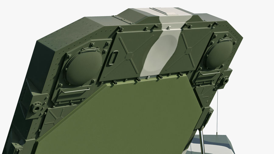 S300 Flap Lid B Camouflage Rigged royalty-free 3d model - Preview no. 16