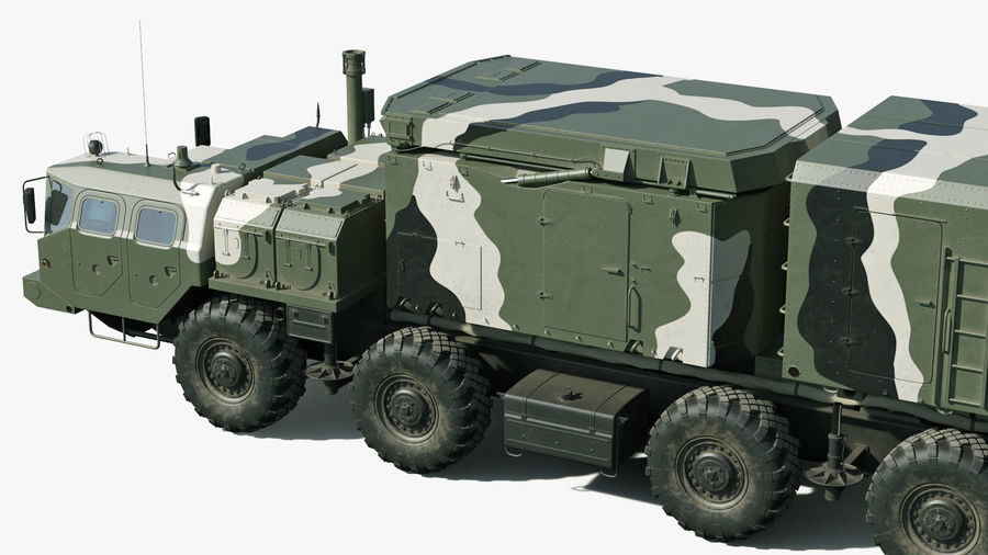 S300 Flap Lid B Camouflage Rigged royalty-free 3d model - Preview no. 22