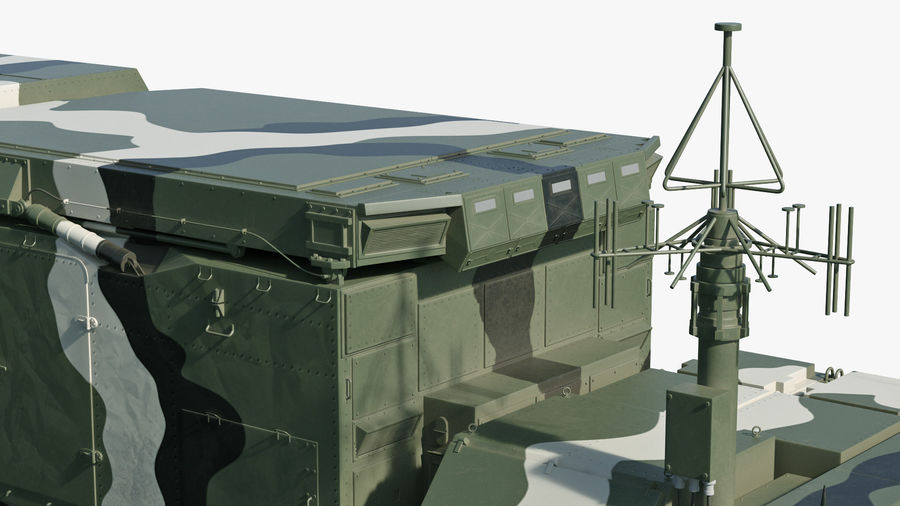 S300 Flap Lid B Camouflage Rigged royalty-free 3d model - Preview no. 32