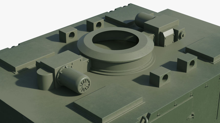 S300 Flap Lid B Missile Guidance Radar Rigged royalty-free 3d model - Preview no. 28