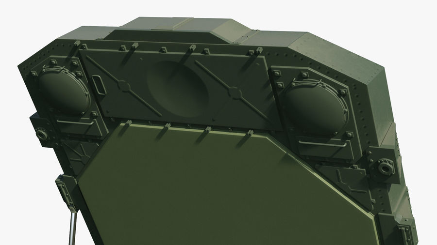 S300 Flap Lid B Missile Guidance Radar Rigged royalty-free 3d model - Preview no. 24