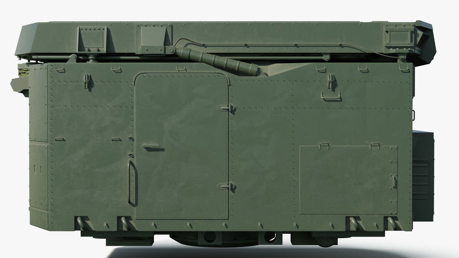 S300 Flap Lid B Missile Guidance Radar Rigged royalty-free 3d model - Preview no. 12