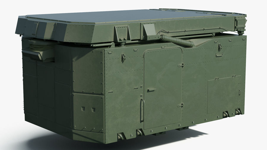 S300 Flap Lid B Missile Guidance Radar Rigged royalty-free 3d model - Preview no. 10