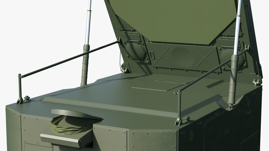 S300 Flap Lid B Missile Guidance Radar Rigged royalty-free 3d model - Preview no. 21