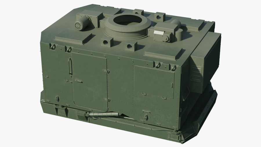 S300 Flap Lid B Missile Guidance Radar Rigged royalty-free 3d model - Preview no. 27