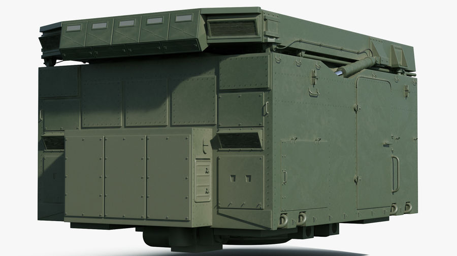 S300 Flap Lid B Missile Guidance Radar Rigged royalty-free 3d model - Preview no. 14