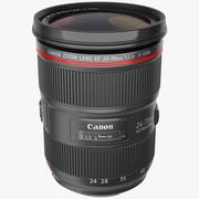 佳能EF变焦镜头24 70 3d model