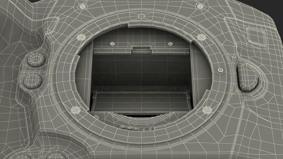 Digitale Spiegelreflexkamera royalty-free 3d model - Preview no. 25