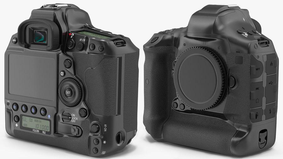 Digitale Spiegelreflexkamera royalty-free 3d model - Preview no. 7