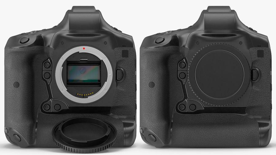 Digitale Spiegelreflexkamera royalty-free 3d model - Preview no. 8