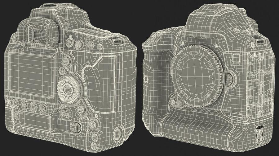 Digitale Spiegelreflexkamera royalty-free 3d model - Preview no. 23