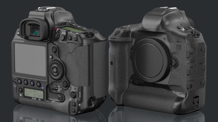 Digitale Spiegelreflexkamera royalty-free 3d model - Preview no. 3