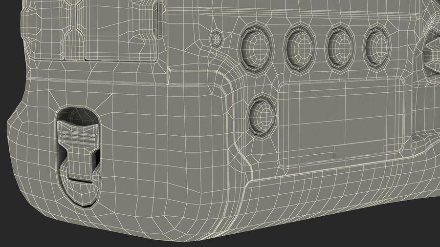Digitale Spiegelreflexkamera royalty-free 3d model - Preview no. 27