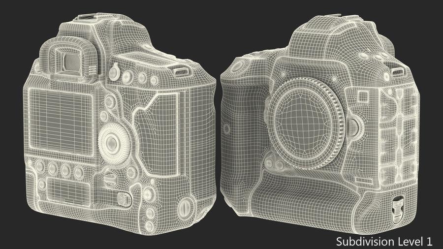 Digitale Spiegelreflexkamera royalty-free 3d model - Preview no. 19