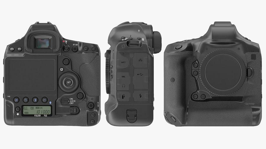 Digitale Spiegelreflexkamera royalty-free 3d model - Preview no. 12