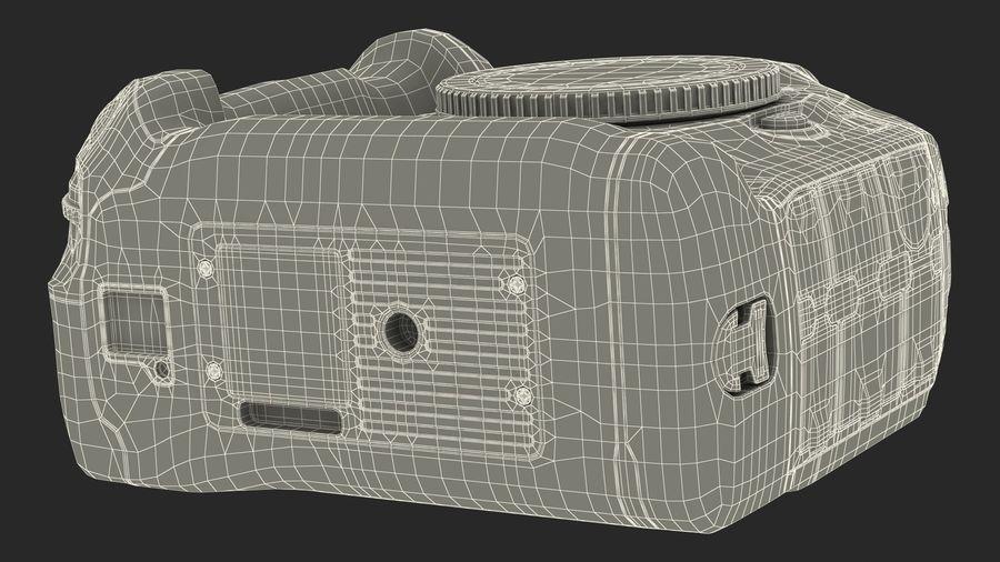 Digitale Spiegelreflexkamera royalty-free 3d model - Preview no. 24