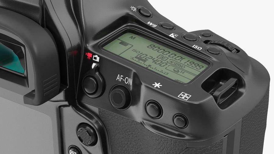 Digitale Spiegelreflexkamera royalty-free 3d model - Preview no. 14