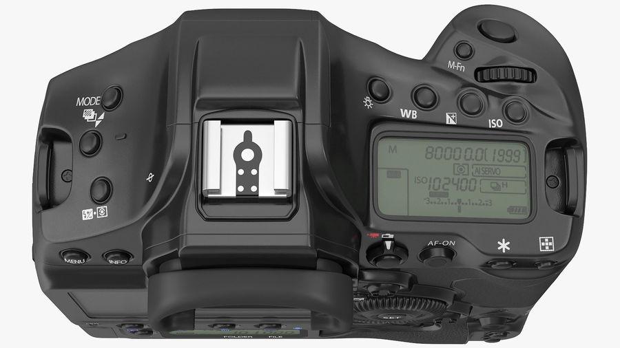 Digitale Spiegelreflexkamera royalty-free 3d model - Preview no. 9