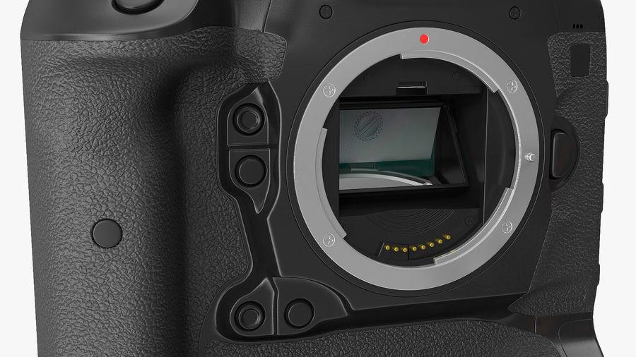 DSLR-kamera med zoom på stativ royalty-free 3d model - Preview no. 19