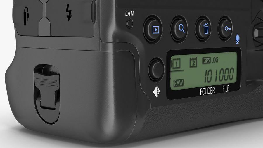 DSLR-kamera med zoom på stativ royalty-free 3d model - Preview no. 18