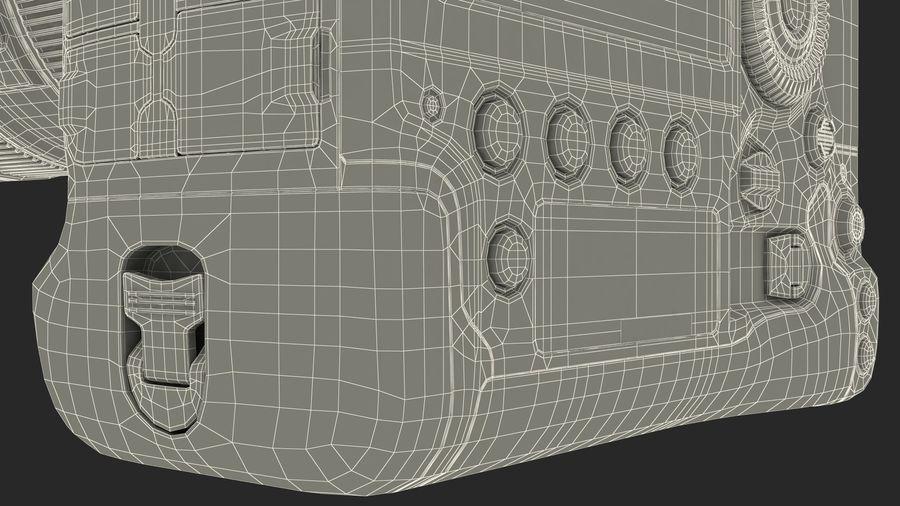 DSLR-kamera med zoom på stativ royalty-free 3d model - Preview no. 31