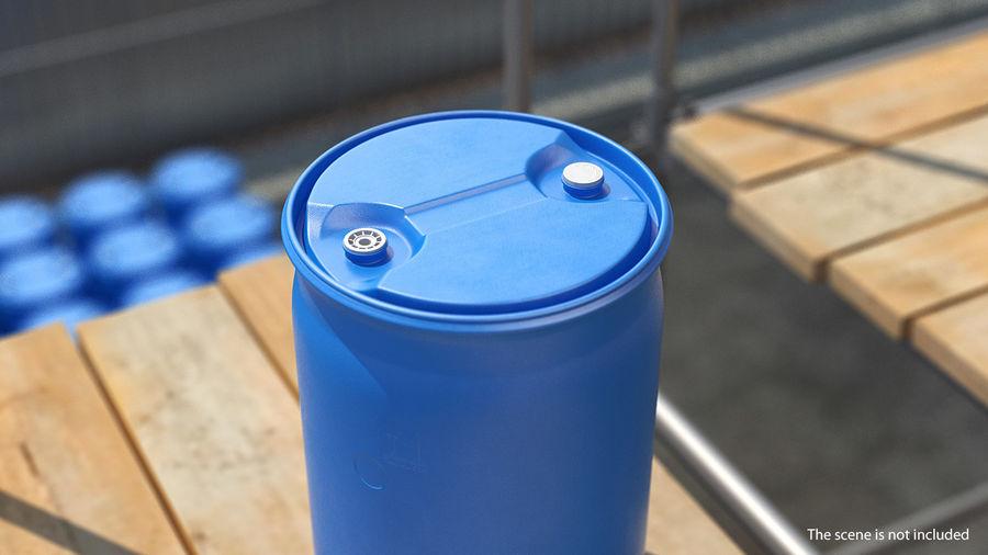 プラスチック製の貯水タンクコレクション royalty-free 3d model - Preview no. 19