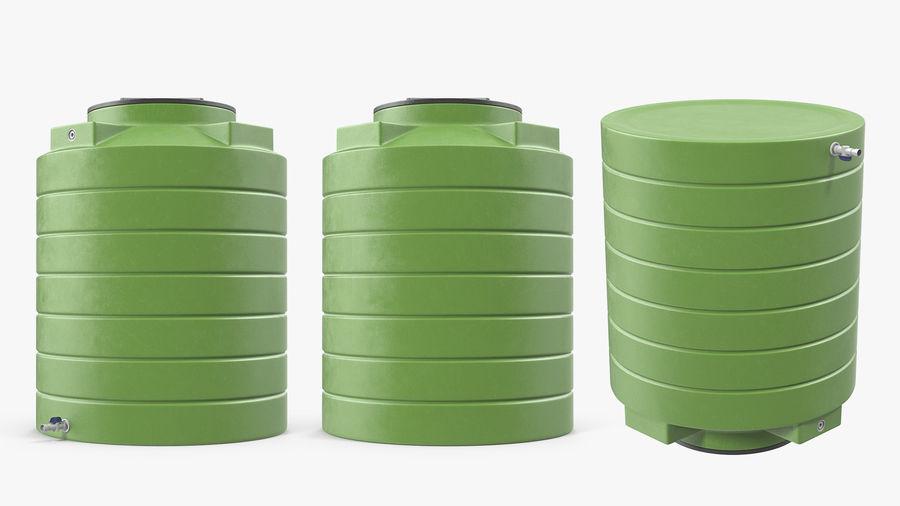 プラスチック製の貯水タンクコレクション royalty-free 3d model - Preview no. 26