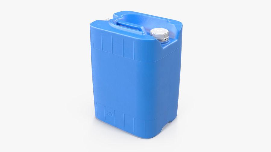 プラスチック製の貯水タンクコレクション royalty-free 3d model - Preview no. 11