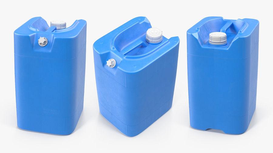 プラスチック製の貯水タンクコレクション royalty-free 3d model - Preview no. 14