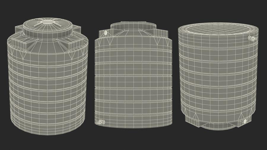 プラスチック製の貯水タンクコレクション royalty-free 3d model - Preview no. 33