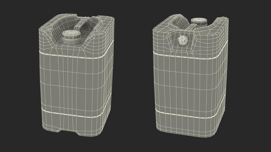 プラスチック製の貯水タンクコレクション royalty-free 3d model - Preview no. 31