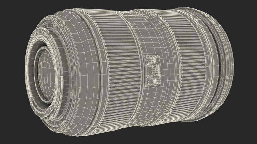 Digitale Spiegelreflexkamera mit Zoom royalty-free 3d model - Preview no. 30