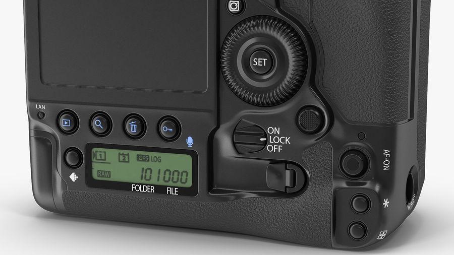 Digitale Spiegelreflexkamera mit Zoom royalty-free 3d model - Preview no. 16