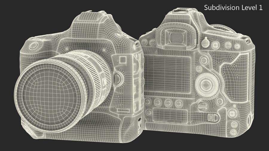 Digitale Spiegelreflexkamera mit Zoom royalty-free 3d model - Preview no. 22