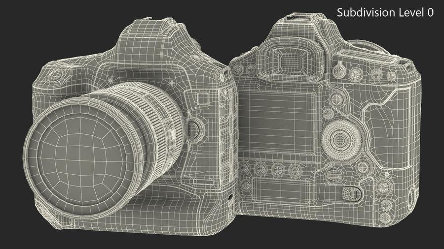 Digitale Spiegelreflexkamera mit Zoom royalty-free 3d model - Preview no. 21