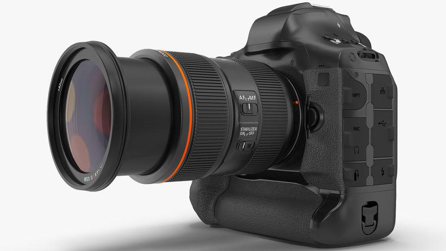 Digitale Spiegelreflexkamera mit Zoom royalty-free 3d model - Preview no. 5
