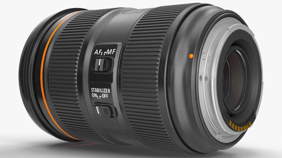 Digitale Spiegelreflexkamera mit Zoom royalty-free 3d model - Preview no. 13