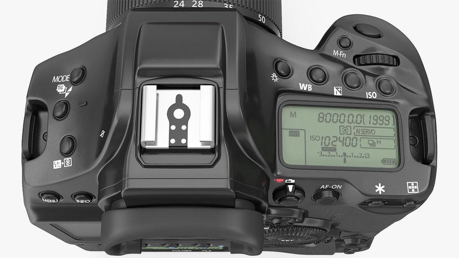 Digitale Spiegelreflexkamera mit Zoom royalty-free 3d model - Preview no. 19
