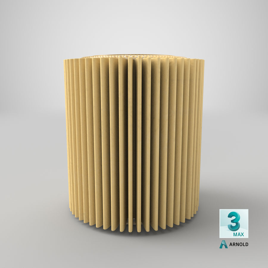 Oil Filter Element royalty-free 3d model - Preview no. 27