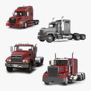 Lastbilssamling 3d model