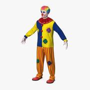 Adult Clown Suit 3d model