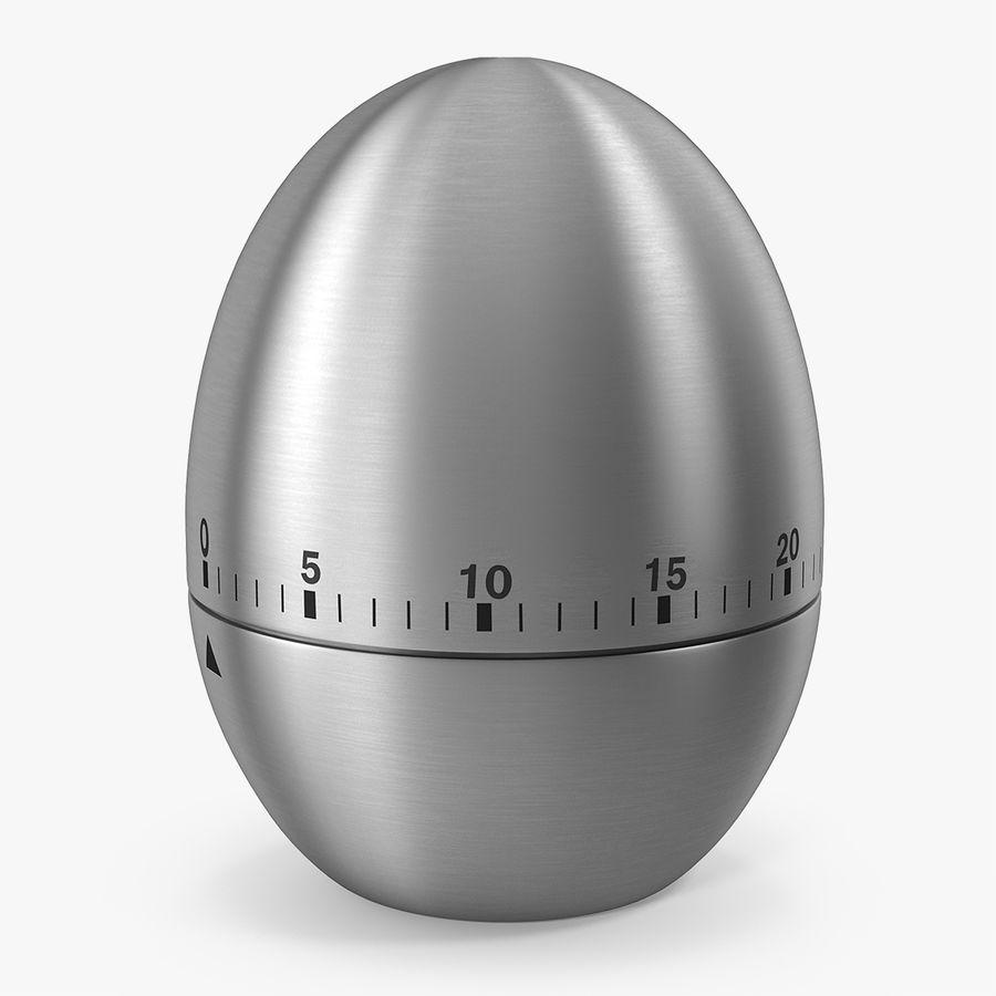 Timer Da Cucina A Forma Di Uovo In Acciaio Inossidabile Modello 3d 19 Obj Lxo Ma Max Fbx C4d Blend 3ds Usdz Free3d