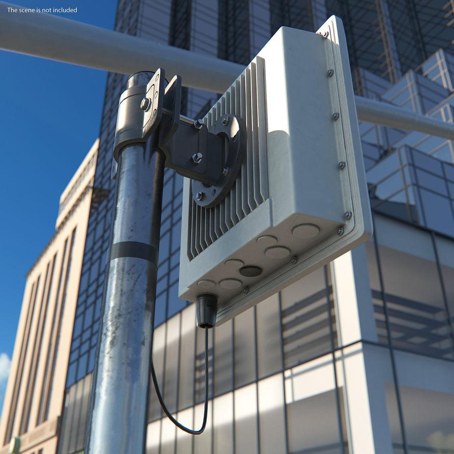 Street CCTV Surveillance Cameras royalty-free 3d model - Preview no. 5