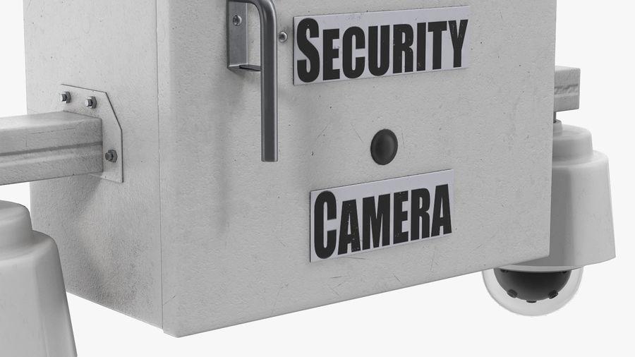 Street CCTV Surveillance Cameras royalty-free 3d model - Preview no. 8