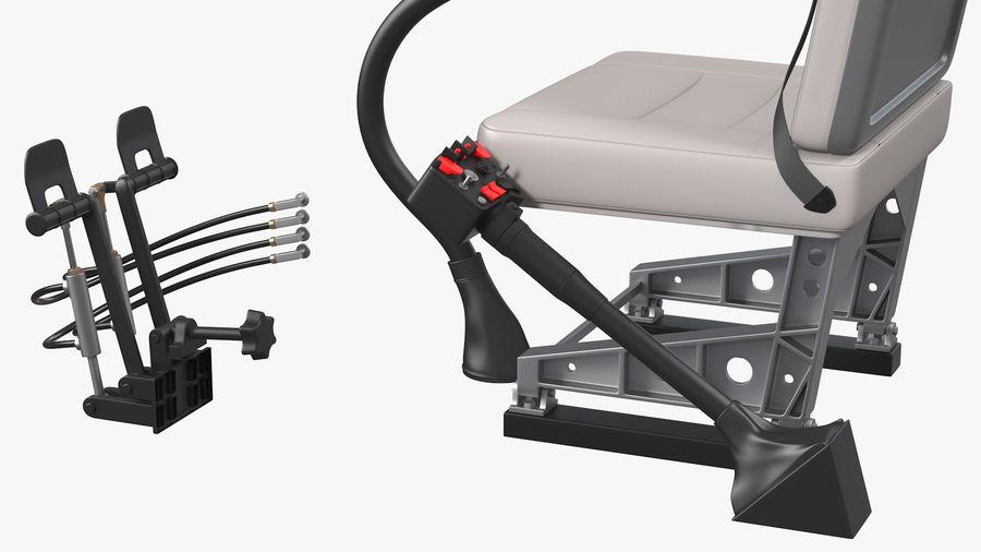 Podstawowe sterowanie helikopterem royalty-free 3d model - Preview no. 7
