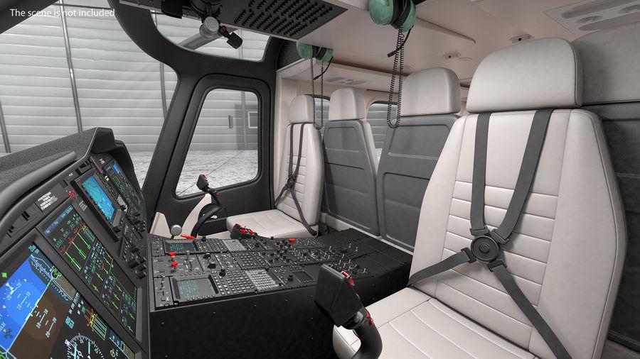 Podstawowe sterowanie helikopterem royalty-free 3d model - Preview no. 4