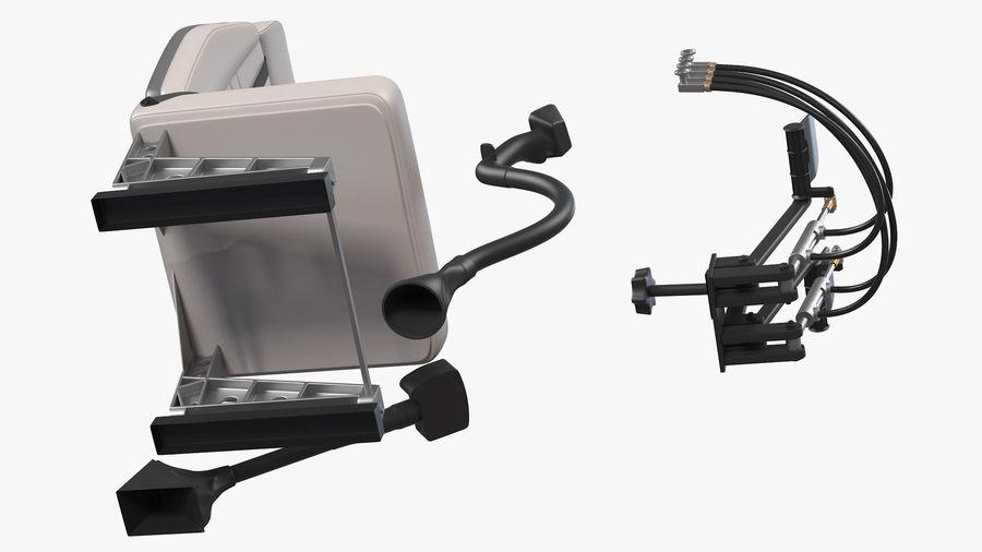 Podstawowe sterowanie helikopterem royalty-free 3d model - Preview no. 11